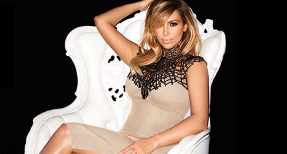 1.Kim Kardashian tiene una fortuna personal de 65 millones de dólares y es una de las celebridades más reconocidas en el mundo. (Fuente: Facebook de Kim Kardashian)