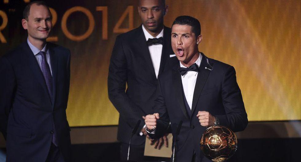 Cristiano celebró con un grito de gol. (Foto: AFP)
