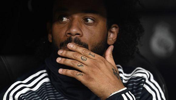Marcelo dejaría Real Madrid para llegar a la Juventus y reencontrarse con Cristiano Ronaldo. (Foto: AFP)