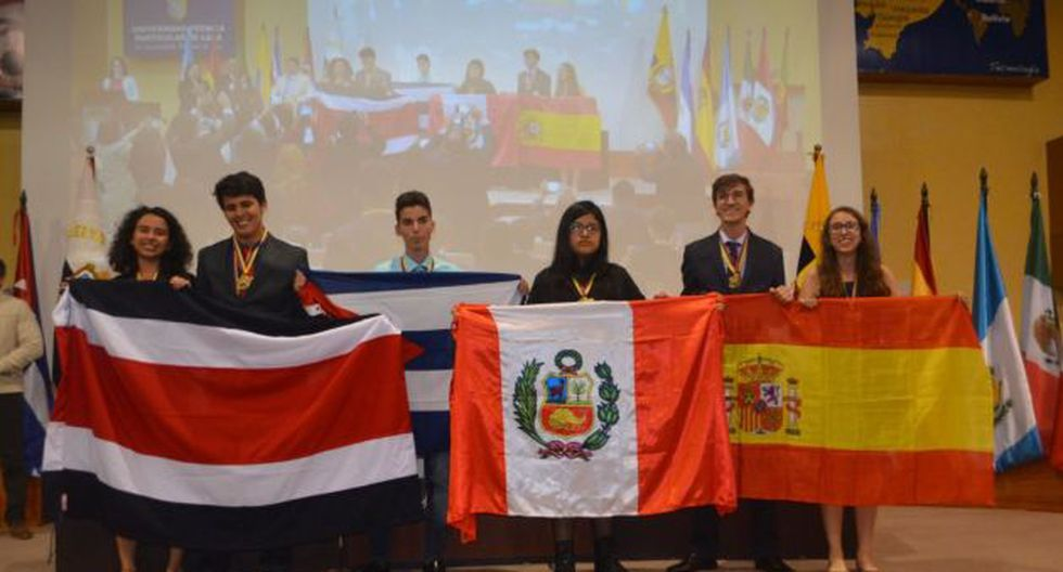 Escolar peruana gana medalla de oro en Olimpiada Iberoamericana de Biología. Foto: Andina