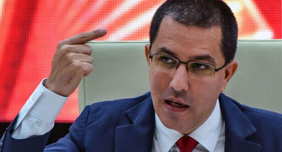 Venezuela: Jorge Arreaza dice que en el país  hay calma y nadie se enfrenta a nadie, desde Cuba. (AFP)