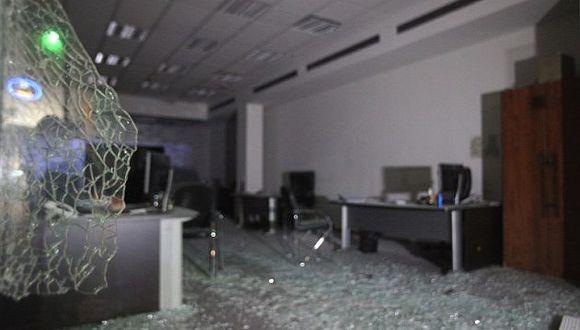 Ashdod, en Israel. Daño causado por cohete lanzado desde Gaza. (Foto: AFP)