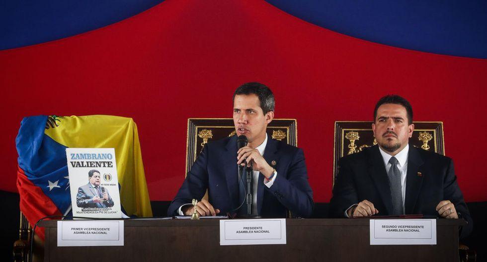 """Guaidó ha dicho que este paso permitirá establecer """"alianzas internacionales"""" para """"proteger y defender al pueblo y la soberanía venezolana"""". (Foto: EFE)"""