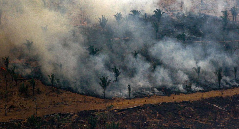 Francia y Bolivia planean unir fuerzas para controlar incendios, presentes y futuros, en la Amazonía. (Foto: AFP)