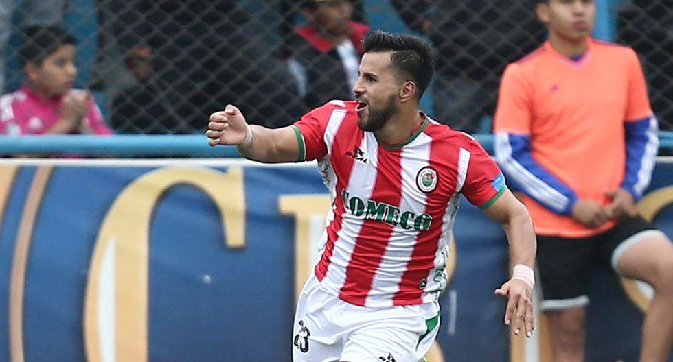 Juan Pablo Vergara anotó 54 goles en la Primera División del fútbol peruano. (Foto: Archivo GEC)