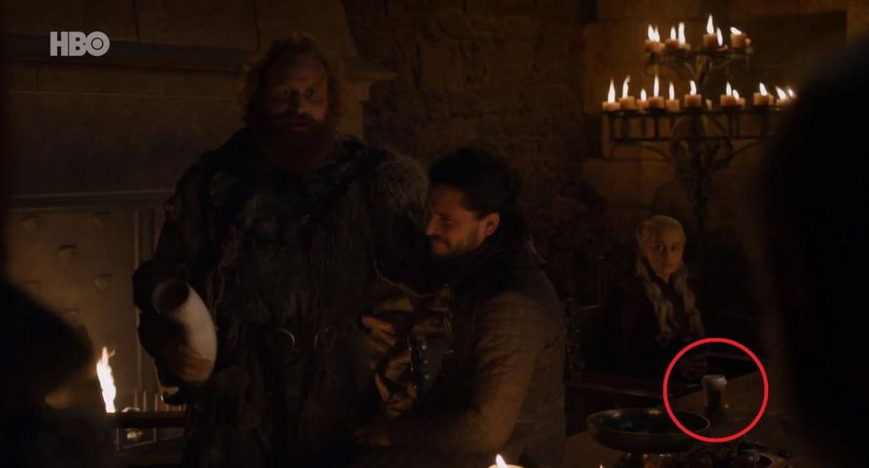 Sophie Turner reveló quién olvidó la taza de café en importante escena de 'Game of Thrones'. (Foto: HBO)