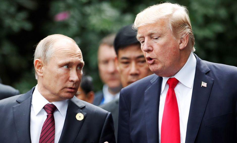"""Trump habla con Putin sobre Venezuela y pide que se permita una """"transición pacífica"""". (Foto: EFE)"""