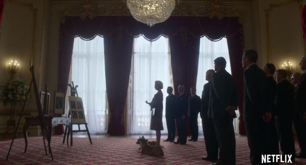 """Netflix estrenó un nuevo teaser tráiler de la tercera temporada de """"The Crown"""". (Foto: Captura de video)"""
