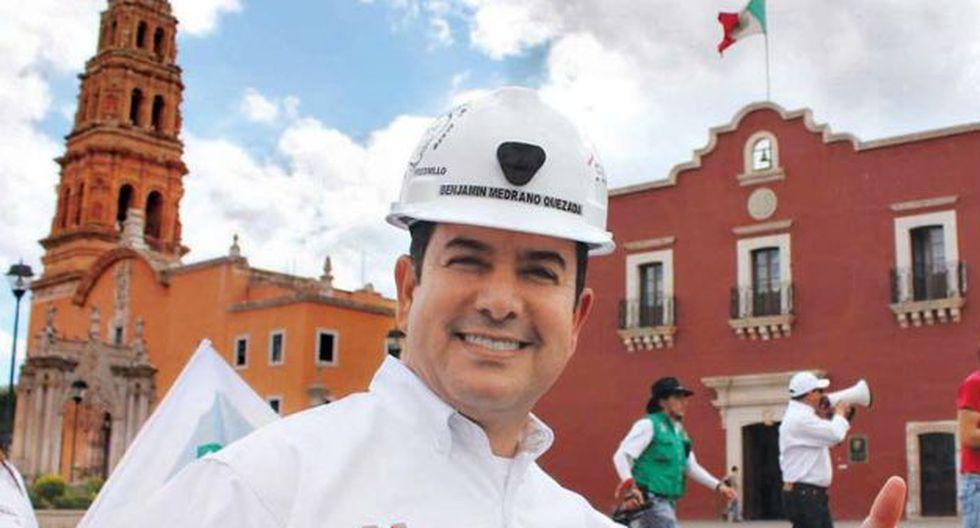 Benjamín Medrano juró en Fresnillo, Zacatecas, el pasado 15 de setiembre. (Foto: Oficial)