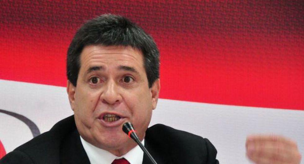 Horacio Cartes. (Foto: AFP)