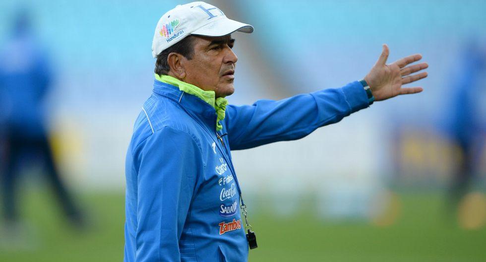 Jorge Luis Pinto fue cauteloso al pronunciarse sobre su futuro y el de Alianza Lima. (Foto: AFP)