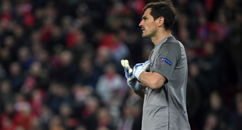 Casillas sufrió este miércoles un infarto agudo de miocardio y permanece ingresado en el Hospital CUF de Porto, donde fue sometido a un cateterismo. (Foto: AFP)