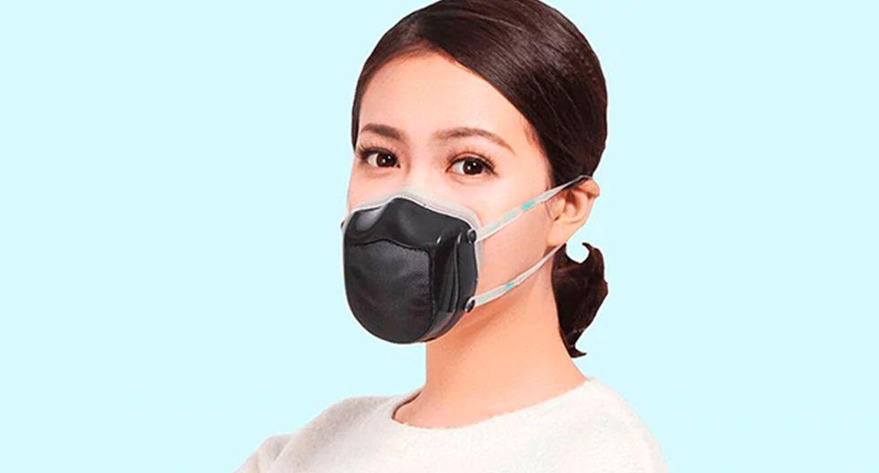 Así funciona la Youpin Q5S Electric Anti Haze Sterilizing Mask de Xiaomi, la mascarilla para protegerte de la contaminación. (Foto: Xiaomi)
