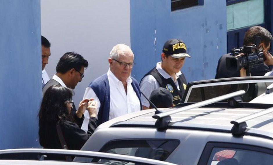 Kuczynski fue internado el último viernes en una clínica tras sufrir un dolor en el pecho y una crisis hipertensiva. (Foto: GEC)