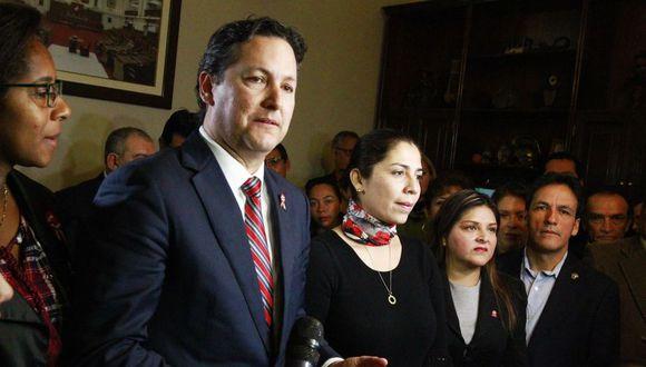 Entre los firmantes de la tacha figuran legisladores de Frente Amplio, Nuevo Perú y Alianza Para el Progreso. (Andina)