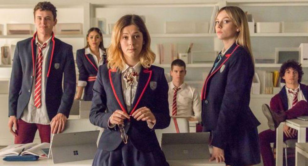 """Cayetana y Rebeka, los personajes de """"Élite"""" que se inspiraron en noticias reales. (Foto: Netflix)"""