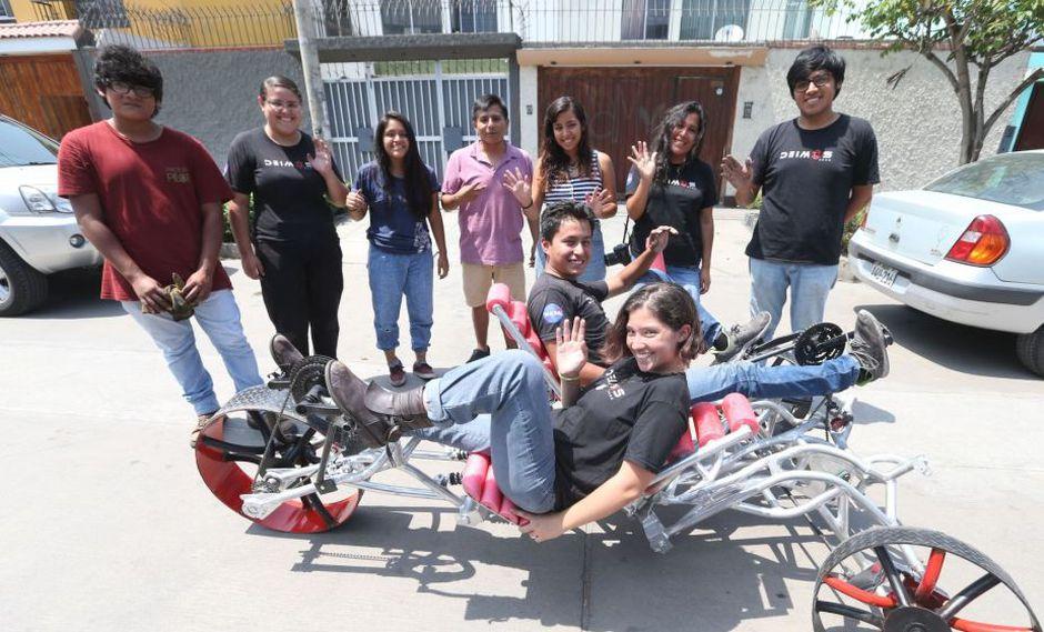 Peruanos crean rover para recorrer Marte y participarán en concurso de la NASA | FOTOS