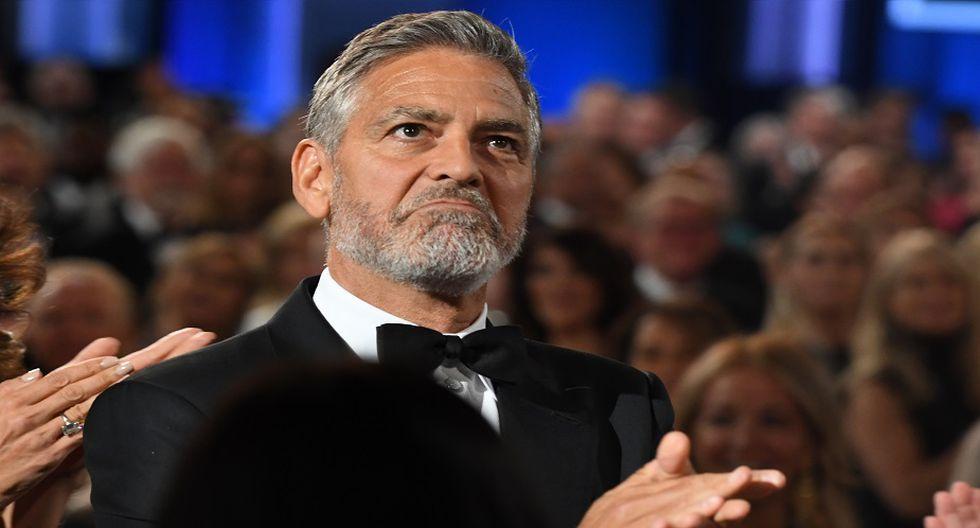 George Clooney facturó 239 millones de dólares por venta de tequila y lidera la lista (Foto: AFP)