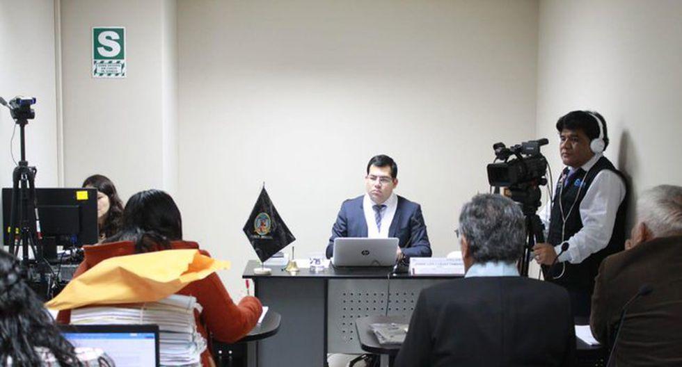 El juez Jorge Chávez Tamariz dictó la medida contra los dirigentes de Diálogo Vecinal y el empresario César Meiggs. (Foto: Poder Judicial)