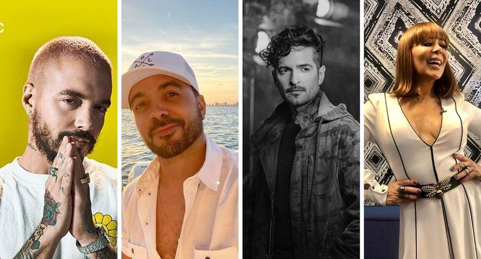 Diferentes músicos como J Balvin, Alejandra Guzmán, Juanes, Luis Fonsi y más se unirán para entretener a sus seguidores en redes sociales. (@jbalvin/ @laguzmanmx/ @luisfonsi / @tommytorres)