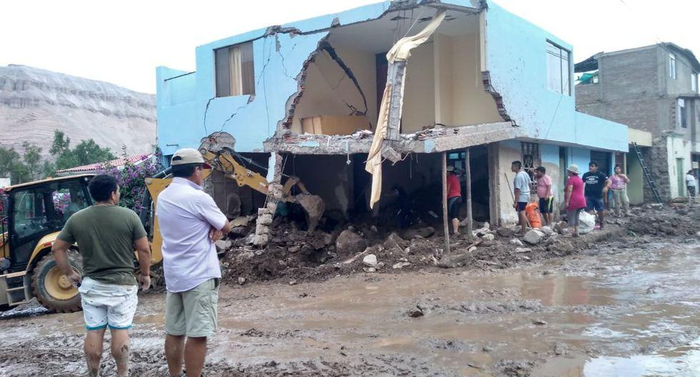 Las viviendas en la región Arequipa también quedaron destruidas por el paso del huaico. (Foto: Ministerio de Vivienda)