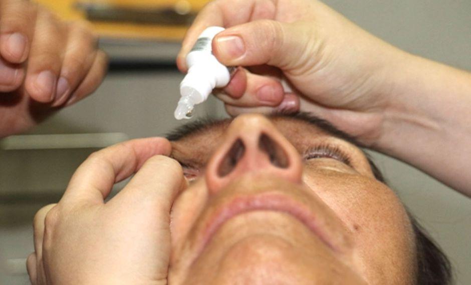 Uso en ojos de medicamentos sin recete puede terminar en pérdida de la visión. (Agencia Andina)