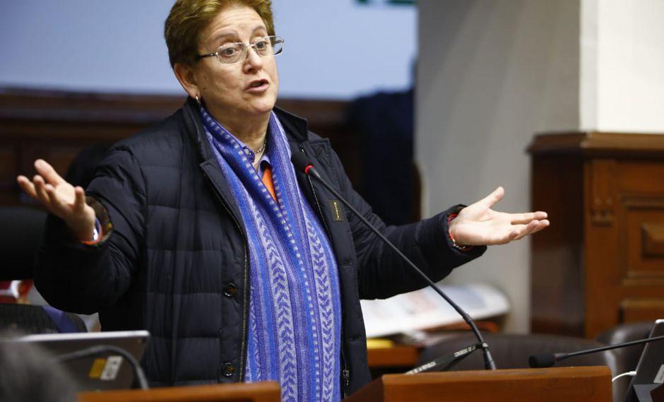 """Lourdes Alcorta: """"Fuerza Popular debe ceder la presidencia del Congreso"""""""