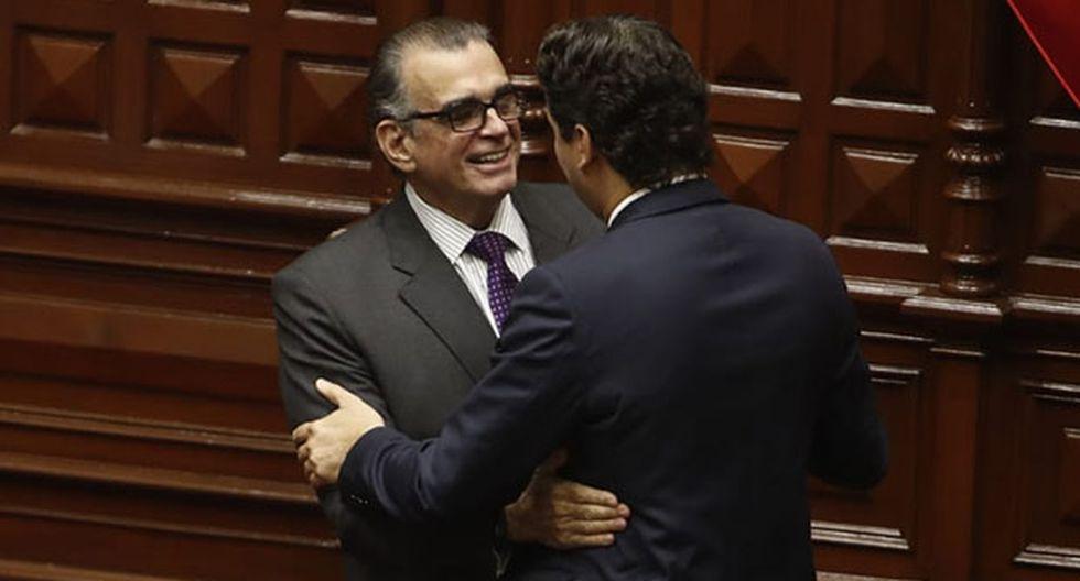 Pedro Olaechea venció a Salaverry y presidirá la Mesa Directiva para el periodo legislativo 2019-2020. (Foto: César Campos / GEC)