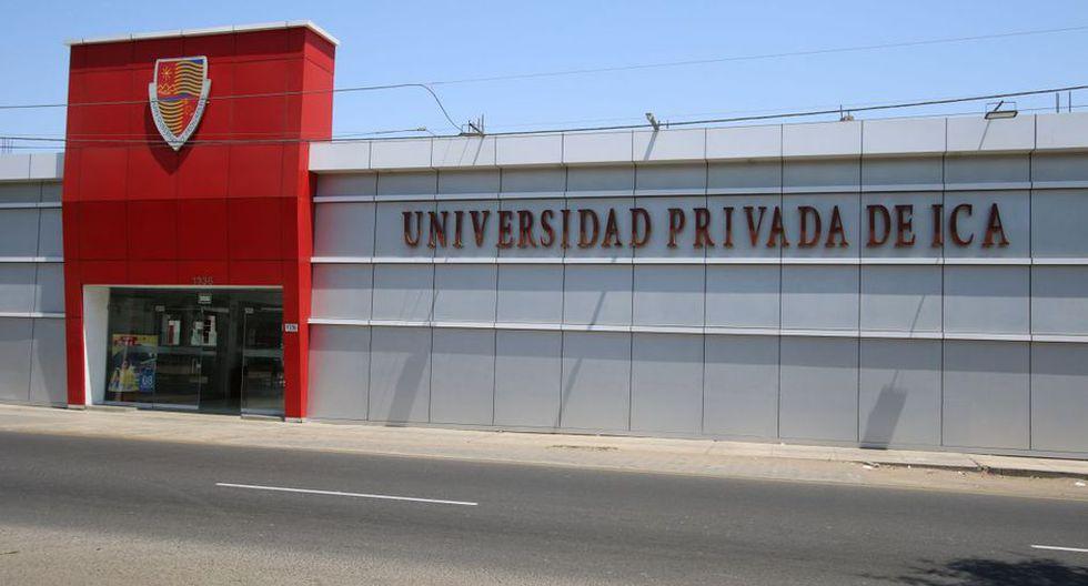 La Universidad Privada de Icaes la casa de estudios número 13 que deberá cerrar en los próximos años. (Foto: Sunedu)