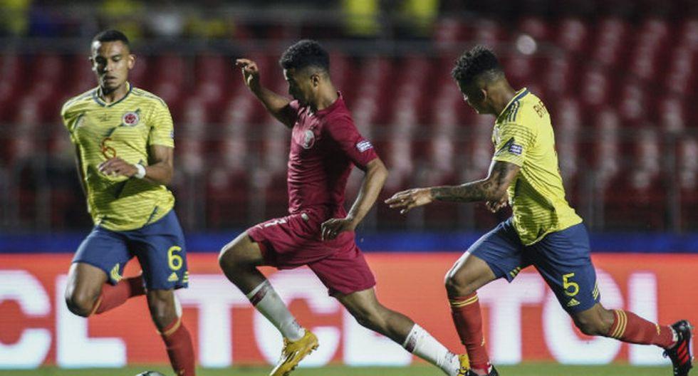 Colombia ganó 1-0 a Catar por la Copa América.