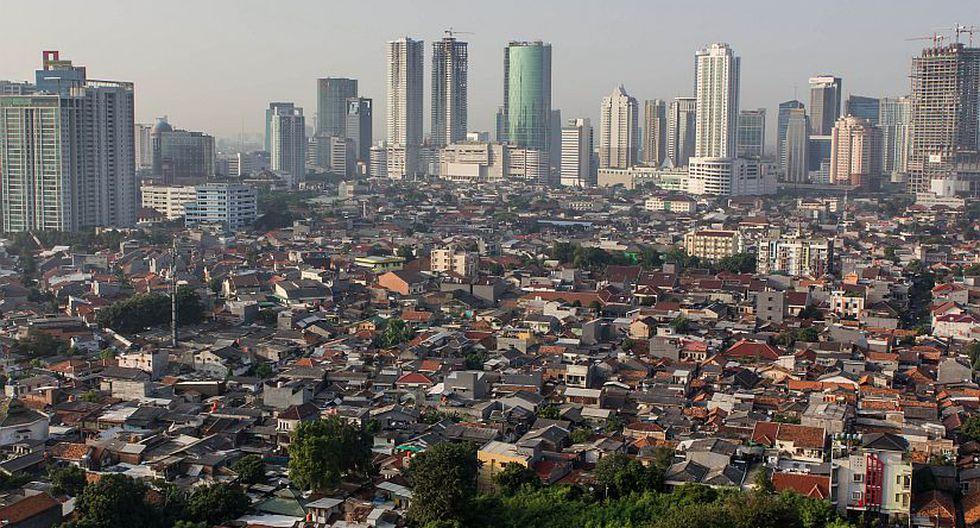 Últimos puestos: 50) Jakarta, Indonesia