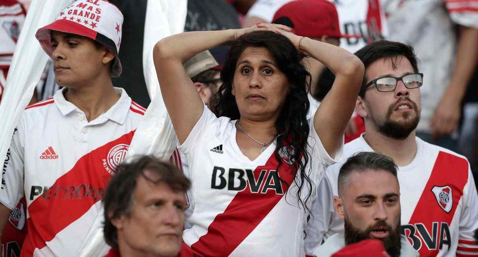 Página habilitada por River Plate para obtener entradas para la final de Libertadores colapsó. (Foto: AFP)