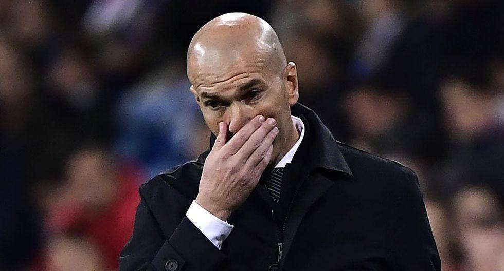 Zinedine Zidane explicó titularidad de su hijo Luca en lugar de Keylor Navas. (Foto: AFP)