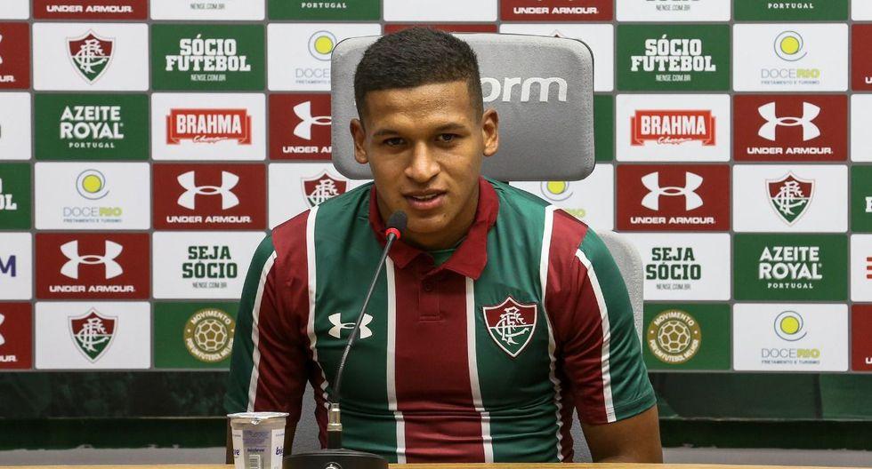 Pacheco podría tener su estreno con Fluminense el próximo domingo, cuando su nuevo equipo enfrente al Botafogo de Alexander Lecaros, exGarcilaso, por el Torneo Carioca. (Fotos: Fluminense)