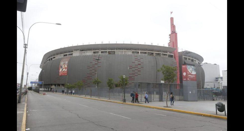 Mañana a las 3:30 p.m. se jugará el partido entre Alianza y Cristal en el Estadio Nacional, en el Cercado de Lima.(Foto: GEC/Mario Zapata)
