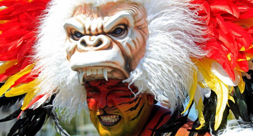 Este desfile hace parte de la programación del Carnaval desde 2003 y en él toman la partida grupos de bailarines de diferentes ritmos. (EFE).