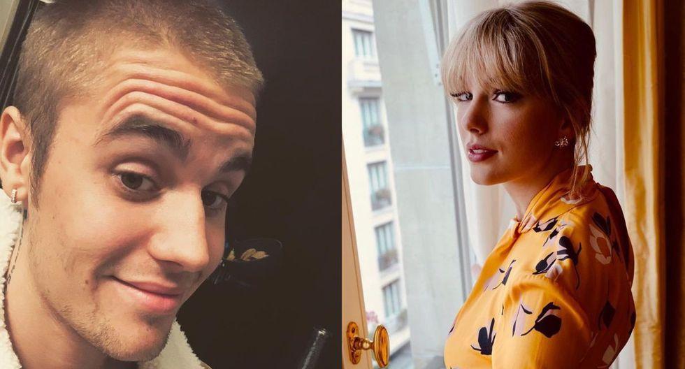 """Justin Bieber se disculpó con Taylor Swift por publicar un post """"hiriente"""" burlándose de ella en Instagram. (Foto: Instagram)"""