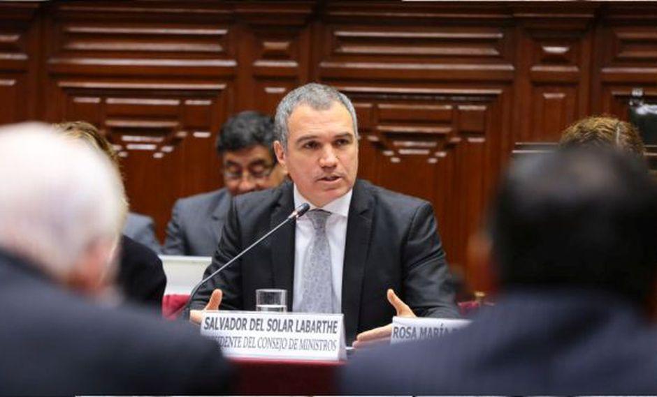 Salvador del Solar lamentó fallecimiento del ministro de Defensa José Huerta