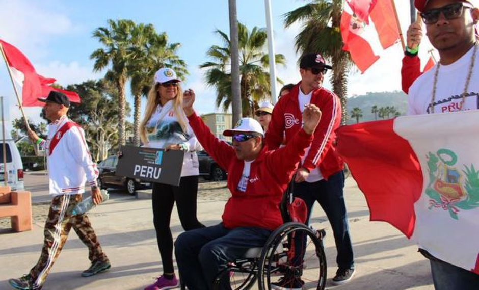 Peruano Pancho Arbulú quedó cuarto en Mundial de Surf Asistido
