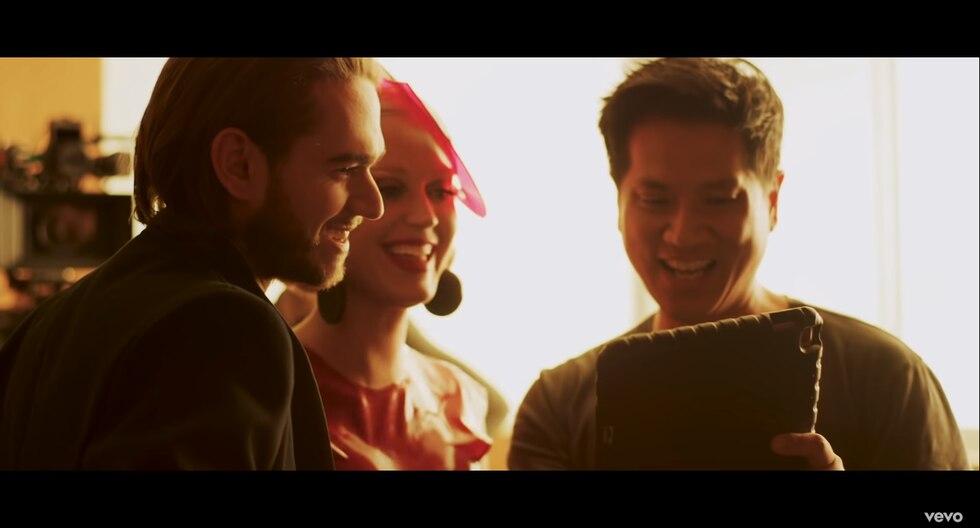 """YouTube: Katy Perry y Zedd comparten el detrás de cámaras de """"365"""" (Foto: Captura de pantalla)"""