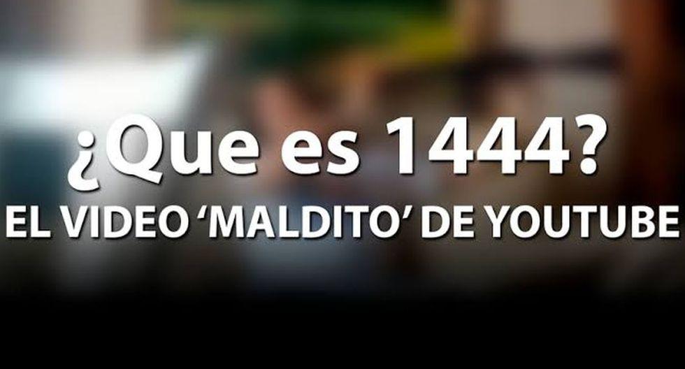 El video 1444 muestra un terrible suceso que ha causado todo tipo de reacciones en diversas partes del mundo. (Foto: YouTube)
