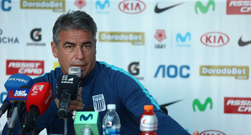 """Pablo Bengoechea ironizó con la llegada de un volante de creación a Alianza Lima. """"Quería a Messi"""", dijo. (Foto. GEC)"""