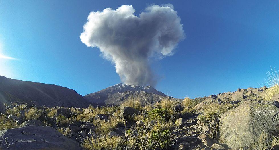 Cenizas del volcán Ubinas sorprendió a los ciudadanos de la provincia de Salta, en Argentina. (Foto: AFP / archivo)