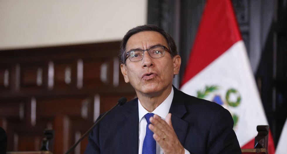 El presidente Martín Vizcarra dijo esperar que la ciudadanía sepa elegir a los nuevos congresistas. (Foto: GEC)
