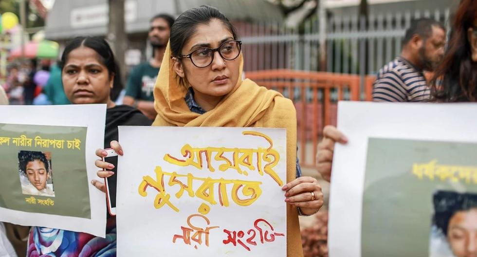 La primera ministra de Bangladesh prometió a toda la nación que perseguirían a las personas implicadas en el asesinato para que cumplan con la ley.  (Foto: AFP)