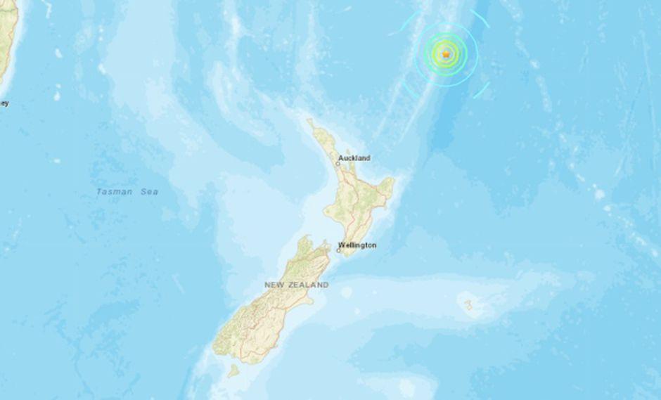 Nueva Zelanda: Terremoto de magnitud 7,4 provocó una alerta de tsunami