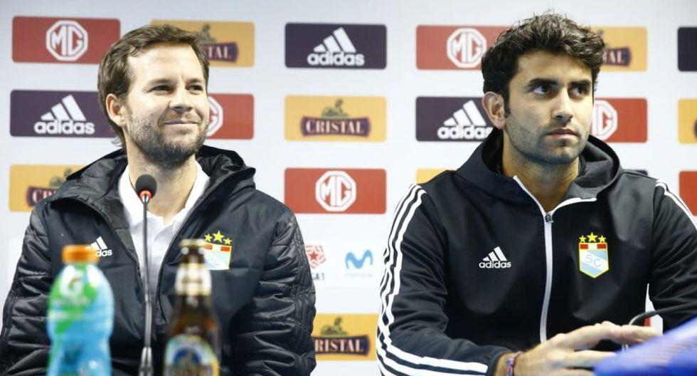 Las postales de la presentación de Manuel Barreto como nuevo entrenador de Sporting Cristal. (Foto: Allen Quintana / GEC)