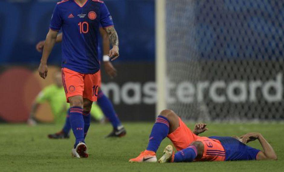 Colombia vs. Argentina: Luis Muriel se retiró del duelo por lesión | VIDEO