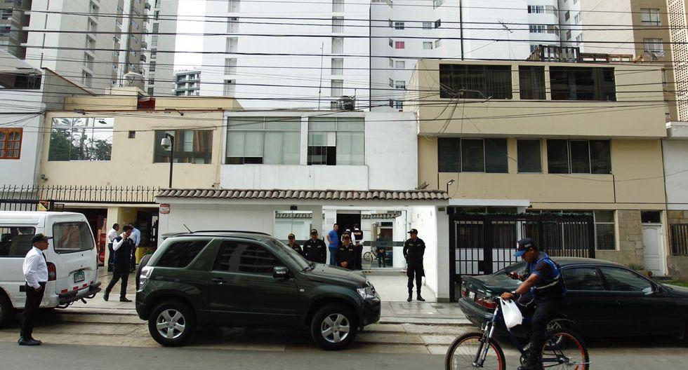 El juez Víctor Zúñiga aprobó el pedido fiscal de allanamiento a un local de la Universidad Alas Peruanas. (Foto: Leandro Britto / GEC)
