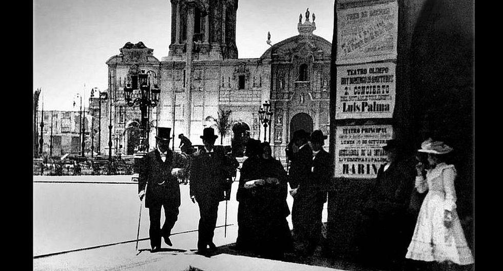 Plaza de Armas (Foto Actual: André Suárez)